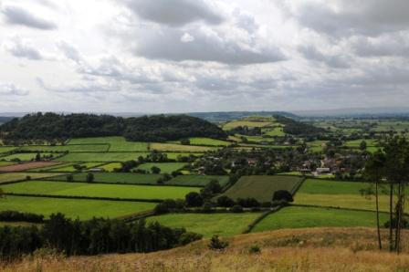 Compton_Dundon_from_Windmill_Hill
